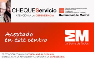 cheque servicio atención a la dependencia en Madrid